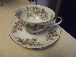Bellaire Trellis cup and saucer 11 available - $3.91