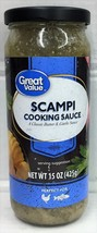 Great Value Scampi Cooking Sauce 15 oz - $6.74