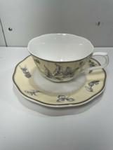 Nikko Herb Garden 19650 Tea Cup & Saucer Set. Free Shipping Euc - $24.70