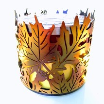 Fall Leaves: 3-Wick *Bath & Body Works* Candle Holder - $24.70