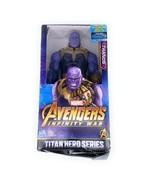 MARVEL-AVENGERS INFINITY WAR /TITAN HERO SERIES THANOS  BRAND NEW - $29.68