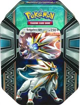 Pokemon TCG Legends of Alola Tin Card Game, Solgaleo GX or Lunala - $22.87