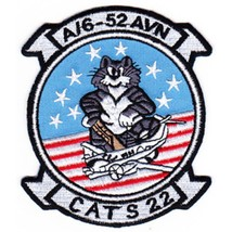 US Army 6th Squadron 52nd Aviation Regiment A Company Tomcat Patch CATS 22 - $11.87