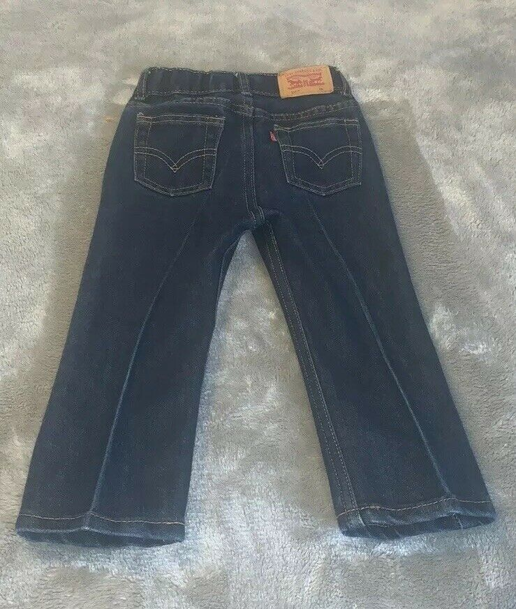 Primary image for Infant Baby Size 24 Months Levi Strauss 511 Levi's Denim Blue Jeans NWOT