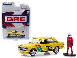 1969 Datsun 510 #33 BRE (Brock Racing Enterprises) with Race Car Driver Figure \ - $19.48