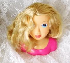 """Cititoy 2013 Fashion Doll Styling Head #GP115 - Blond, Blue Eyes 8"""" - $12.19"""