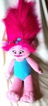 "Build A Bear Trolls Princess Poppy Stuffed Doll 24"" Plush BABW Pink Drea... - $18.75"