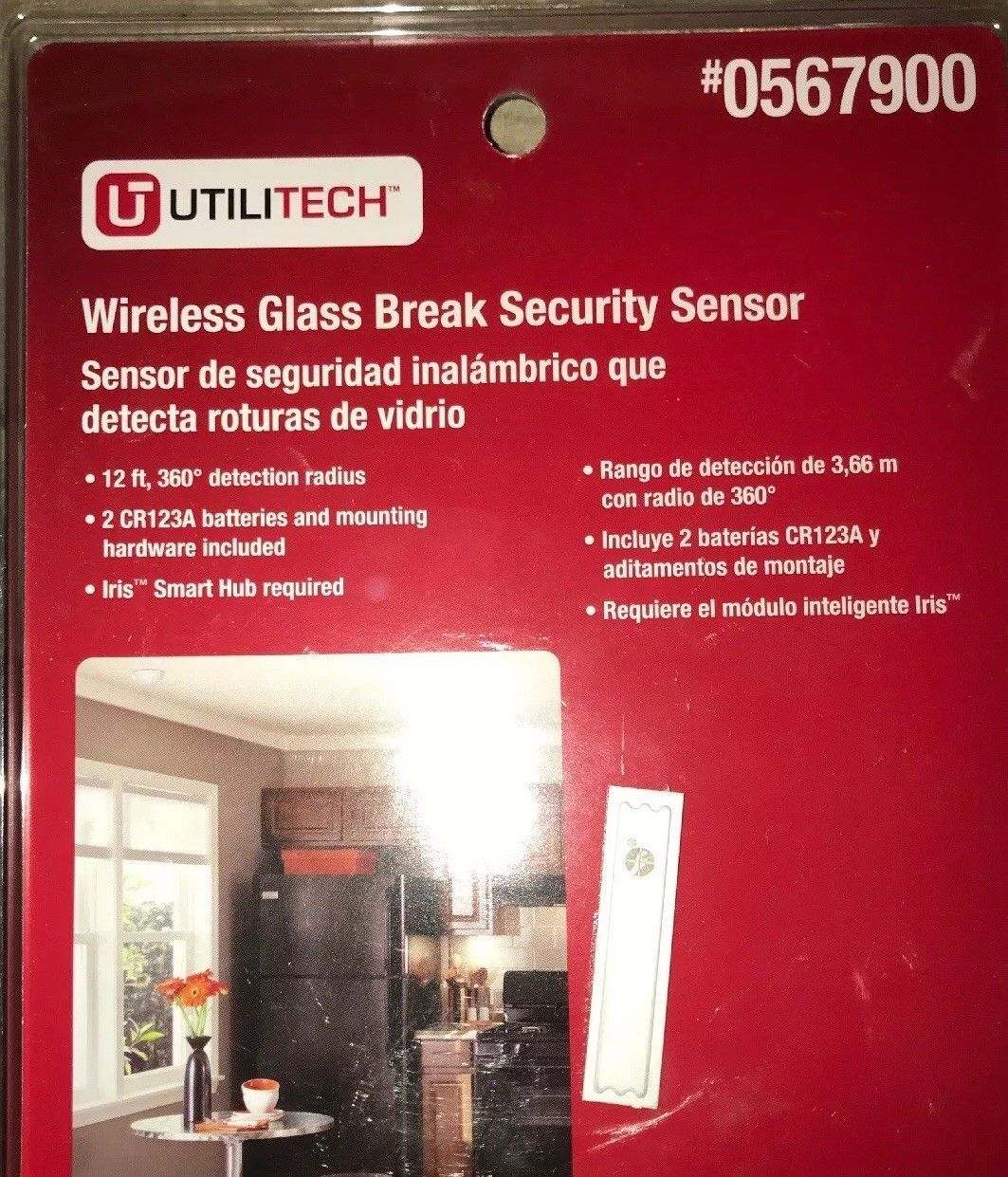 Utilitech Wireless Glass Break Security and 50 similar items
