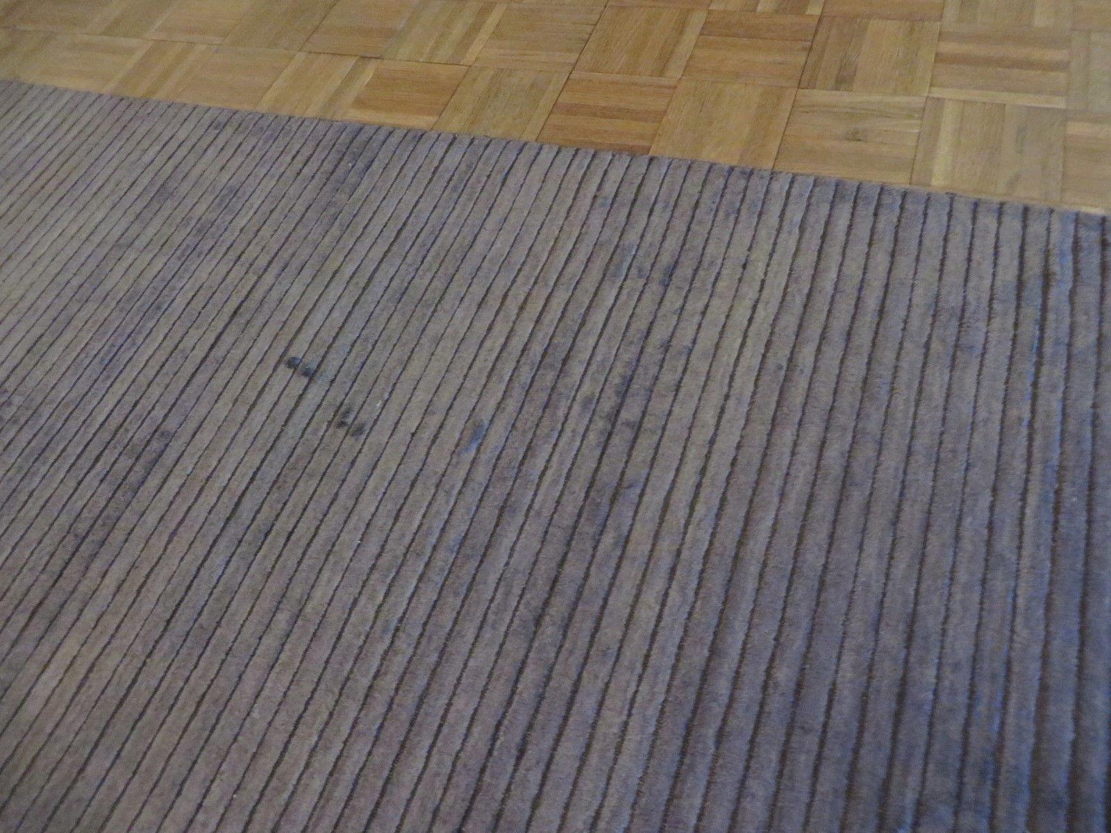 8 X 10 Hand Loomed Brown Oriental Rug Bamboo Silk Modern G3582