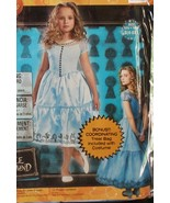 NIP Disney Alice in Wonderland Girls Halloween Costume Sml 4-6X  Bonus B... - $44.99
