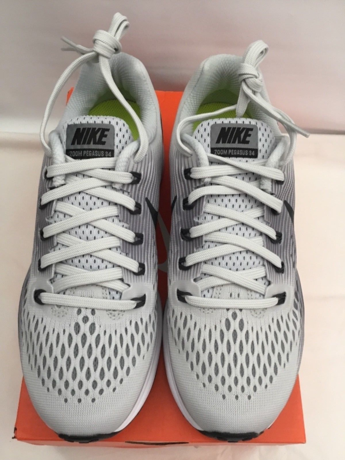 dabb1717ea762 ... Nike Womens Air Zoom Pegasus 34 Pure Platinum Anthracite Running Shoes  Size 6.5 ...