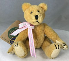 """Boyds Otto von Bruin Plush Wool Jointed Bear Archive Collection 1990 6"""" Tag - $12.59"""