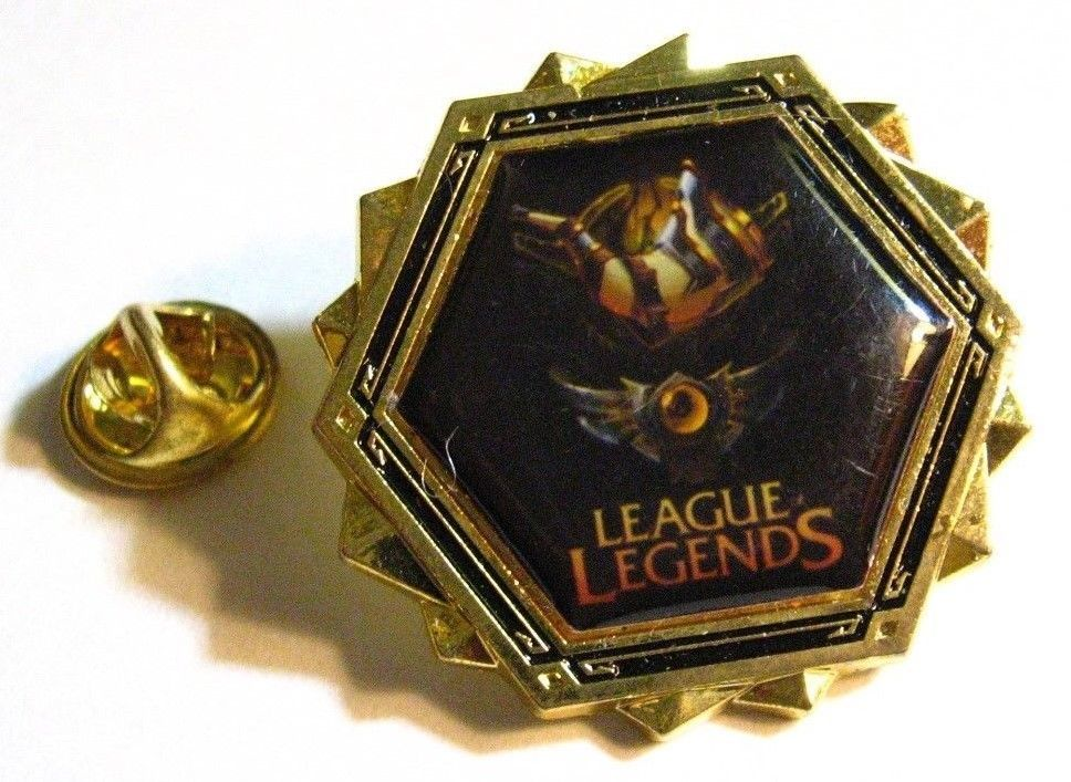 League Of Legends Lapel Pin - Online Battle Arena Video Game Player Gamer Badge