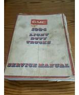 1984 GMC Light Duty Trucks Service Shop Repair Manual Chevy Chevrolet Fa... - $39.60
