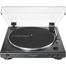 Audio Technica AT LP 60X Black Turntable Fully Automatic Stereo Record Player - image 1