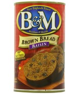 B & M Raisin Brown Bread, 16 oz, Pack of 6 Cans - $19.28