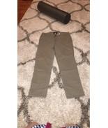 American Eagle Green Khaki Stretch Straight Leg 4 - $5.99