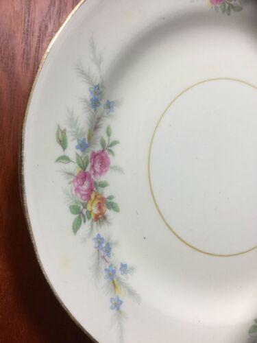 "10 Georgian Eggshell Cashmere Bread Plates 6"" Homer Laughlin image 4"