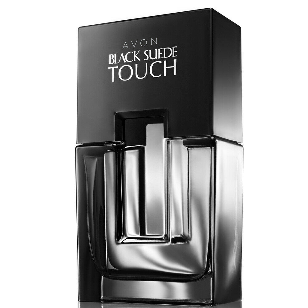 Primary image for Avon Black Suede Touch Eau de Toilette Spray for him 75 ml New Boxed Aftershave