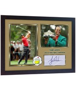 Tiger Woods 2019 Masters Tournament signed autographed photo printed FRA... - $21.88