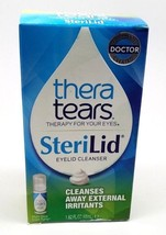 TheraTears SteriLid Eyelid Cleanser 1.62 oz Box Damaged! - $13.99