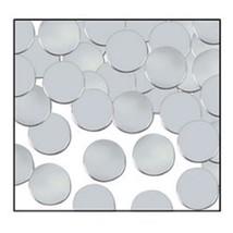 8oz Dot Circle Party Confetti Silver Metallic Birthday Wedding Decoration Table - $3.21