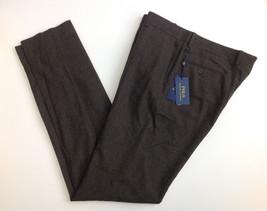 $395 Polo Ralph Lauren Men's Wool Pants, Brown, 36 Reg. - $197.99