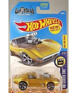 2017 Hot Wheels #99 Screen Time 3/10 '68 CORVETTE GAS MONKEY GARAGE Gold... - $7.92