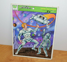 Vintage Buck Rogers Frame Tray Puzzle 1979 Sci-fi Space Retro - $14.03