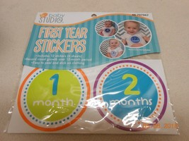 NEW Baby Studio 74 First Year Stickers Photographs Scrapbooking peel & s... - $4.94