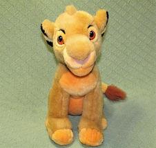 """14"""" SIMBA Young Lion King Plush Stuffed Disney Store CUB Plush Stuffed Animal  image 3"""