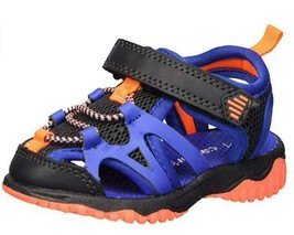 Carter's Zyntec Kids Sandals Blue Fisherman Sport Water Shoes Toddler Bo... - $12.25