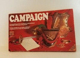 Vintage Camlaign Board Game 1971 by House Of Gaming Complete  - $33.30