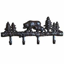 Woopoo Bear/Cat Vintage Cast Iron Wall Hooks - Decorative Cast Iron Wall... - $19.82