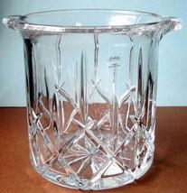 "Gorham Lady Anne Crystal Ice Bucket 7"" Czech Republic New - $68.90"