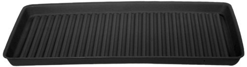 "Eagle 1677B Containment Utility Tray, 36"" Length x 18"" Width x 2"" Height, Black"