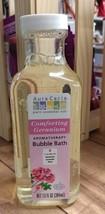 Aura Cacia Aromatherapy Bubble Bath, Comforting Geranium 13 oz - $6.45
