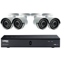 8-Channel MPX HD 1TB DVR with 4 Weatherproof IR Cameras - $599.95