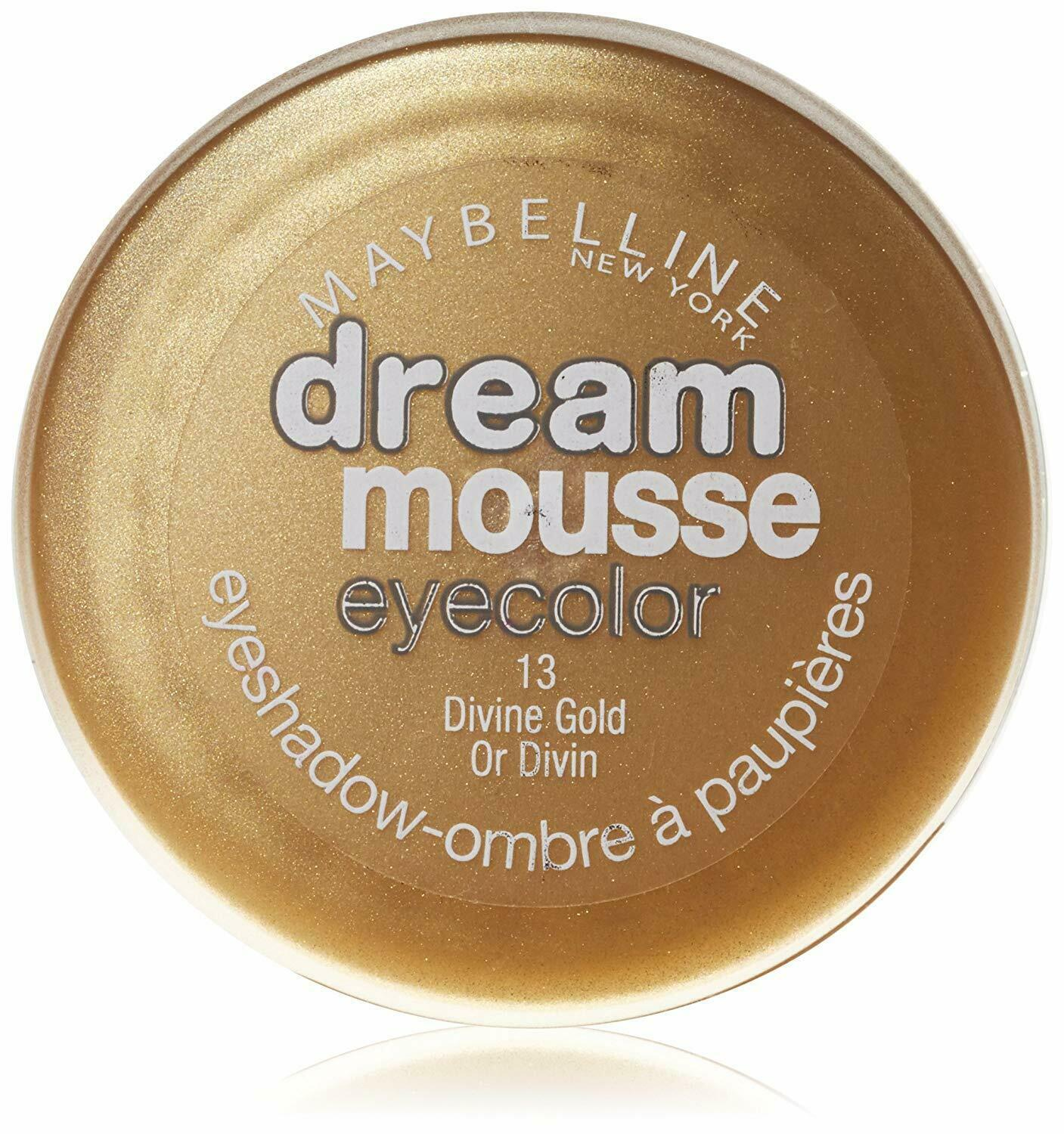 Primary image for Maybelline Dream Mousse Eyecolor 13 Divine Gold