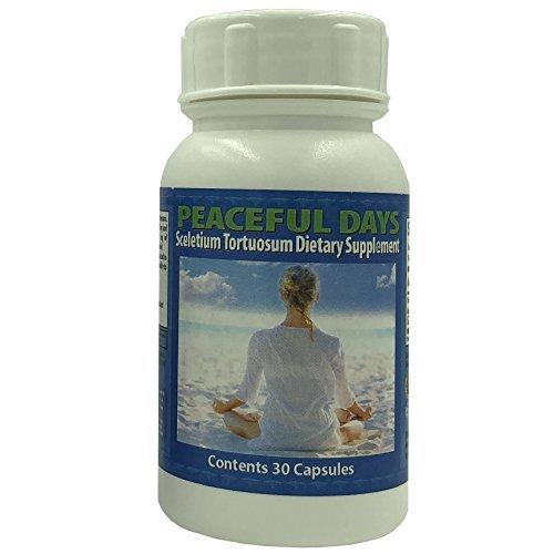 Peaceful Days Sceletium Tortuosum Dietary Supplement - $14.95