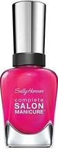 Sally Hansen Complete Salon Manicure Nail Color, Back To The Fucshia, 0.... - $12.85