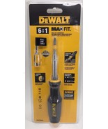 DeWalt - DWHT66569 - Max Fit 6-in-1 Multi-Bit Screwdriver - $19.75