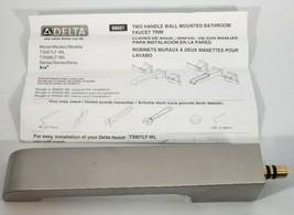 Delta T3567LF-WL Ara 1.2 GPM Wall Mounted Bathroom Faucet - - Brilliance - $98.01