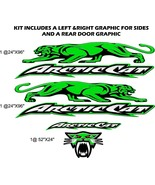 Arctic Cat Sno PRO, ZR, XF, Thundercat, Wildcat - HUGE trailer graphics ... - $149.95