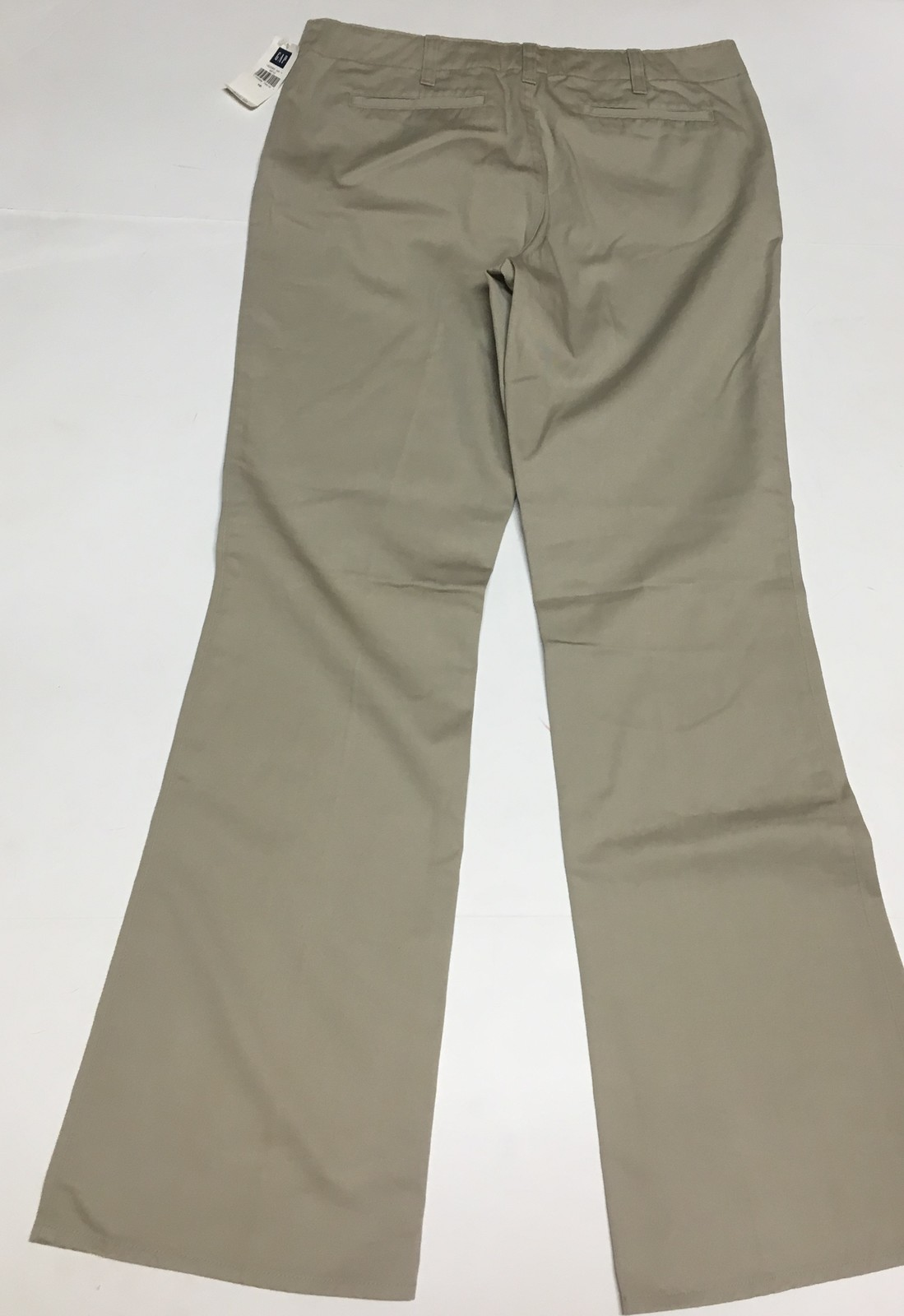 GAP Hipster Trousers Pants Beige Sz 10 image 5