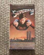 Superman II - Warner Home Video VHS - New/Factory Sealed w/Ultra Rare Watermark - $2,850.00