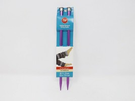 Boye Anodized Aluminum Knitting Needles - New -  US 11  8mm - $8.99