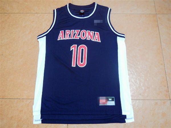 #10 Mike Bibby Arizona University Jersey