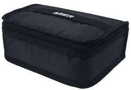 Thermal Insulated Lunch Bag Black Cooler Warmer Small Box Pouch - $10.55