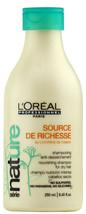 L'OREAL SERIE NATURE SOURCE DE RICHESSE NOURISHING SHAMPOO 8.45 OZ / 250 ML - $14.84